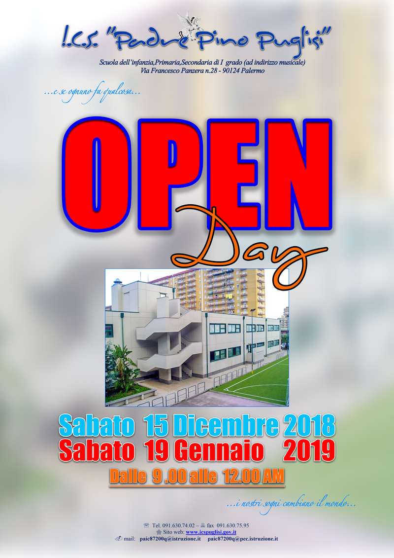 Open Day 2018-19